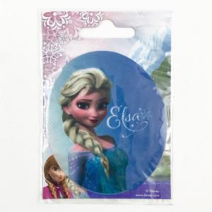Frozen Elsa kangasmerkki. Lasten silitettävä kangasmerkki