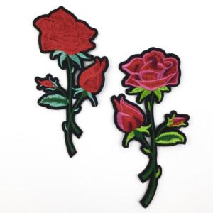 Silitettävä ruusukangasmerkki
